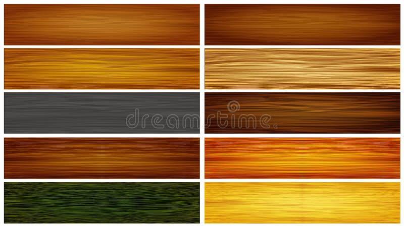 木抽象的纹理 向量例证