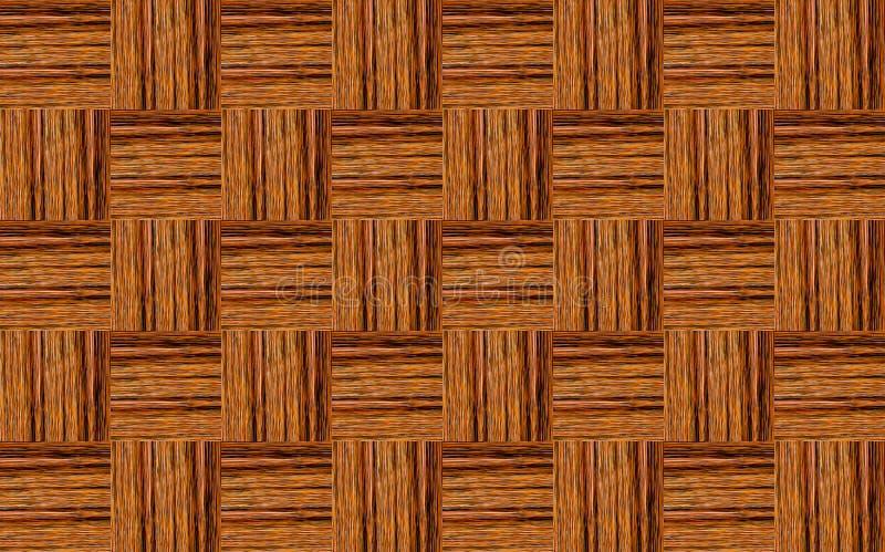 木抽象的背景 方形的元素纹理表面饰板垂直的水平的样式不尽的系列 库存图片