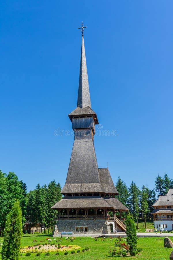 木教会建筑学样式在罗马尼亚 图库摄影