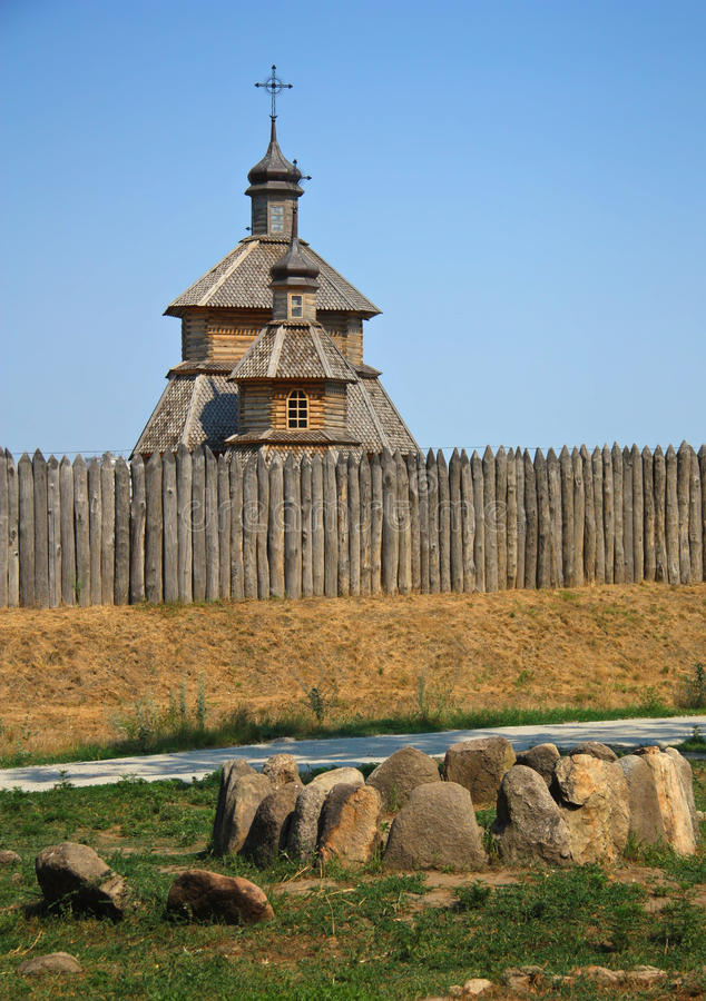 木教会 免版税图库摄影