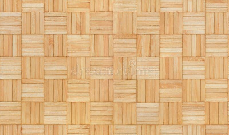 木方形的无缝的纹理样式 免版税库存图片