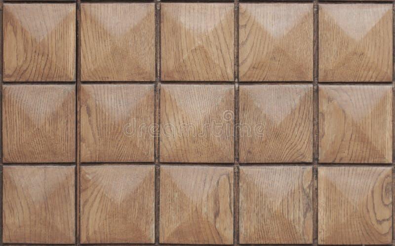 木方形的纹理 库存图片