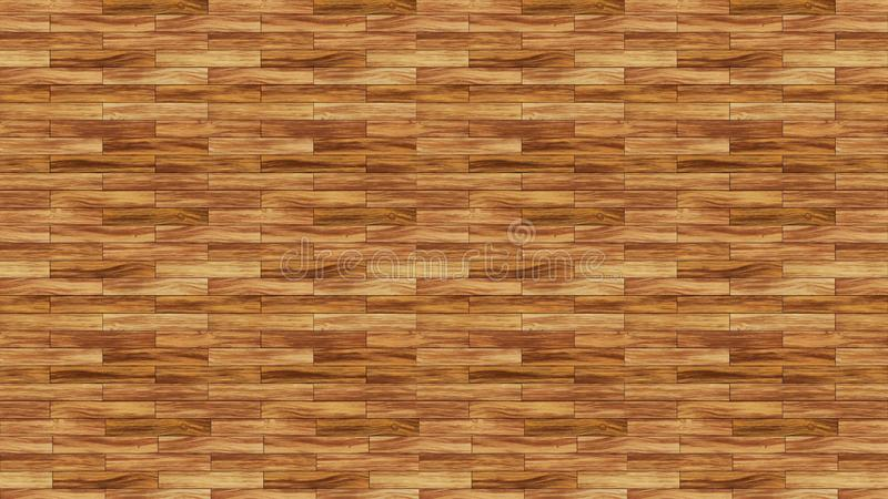 木无缝的地板木纹理  好的浅褐色的木头 皇族释放例证