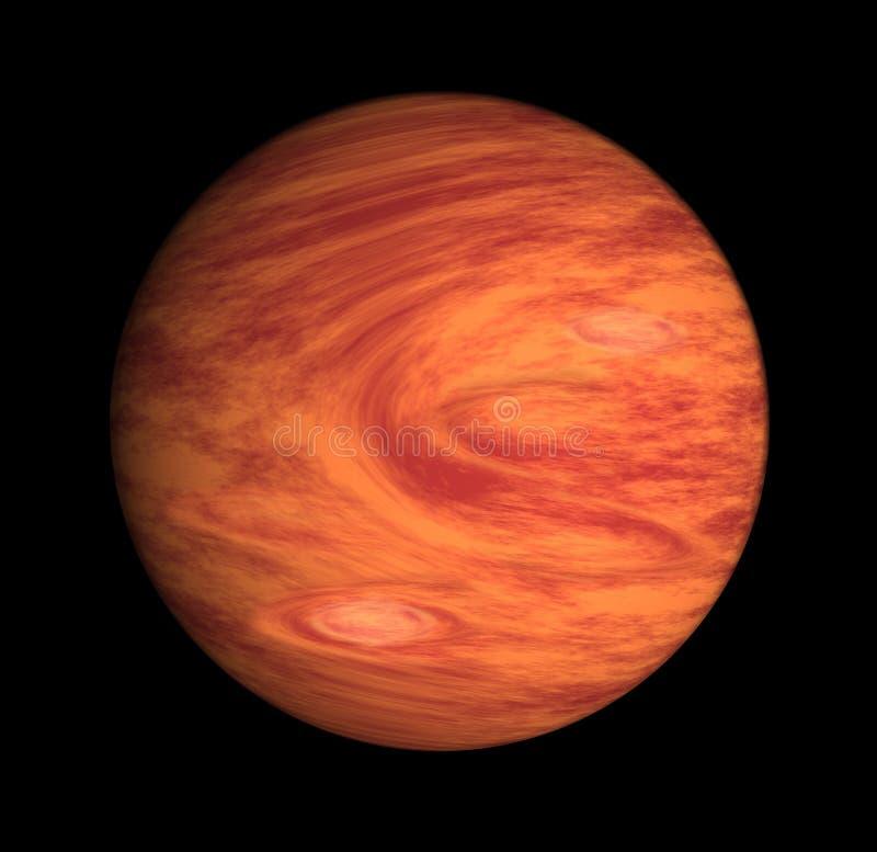 木星行星 皇族释放例证