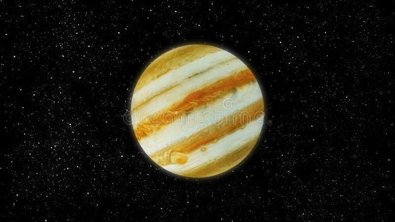 木星 向量例证