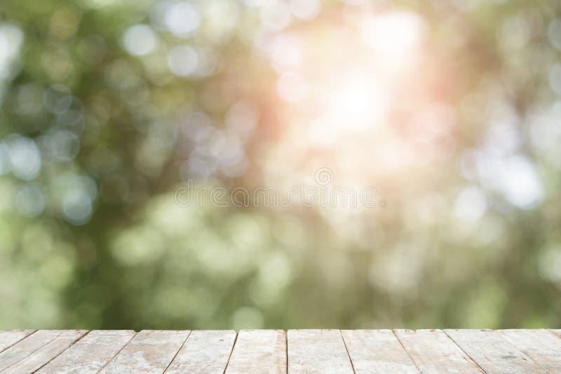 木有抽象bokeh背景 透镜火光作用 库存图片