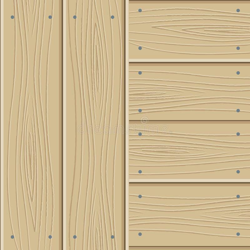 木木条地板的纹理 皇族释放例证