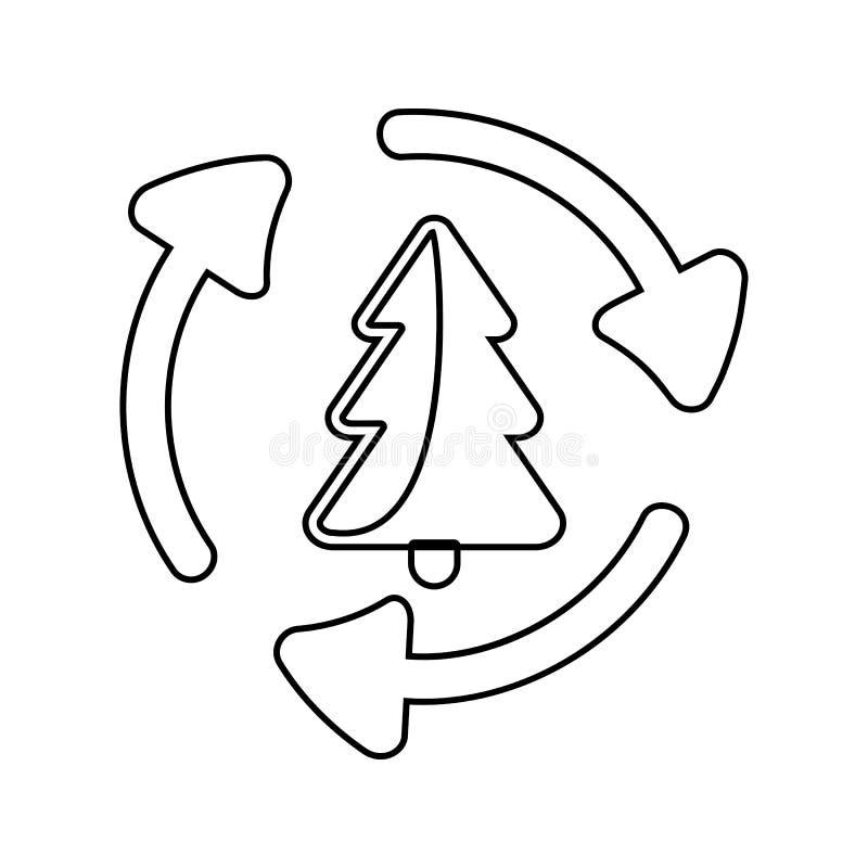 木材加工象 网络安全的元素流动概念和网应用程序象的 网站设计的稀薄的线象和 向量例证