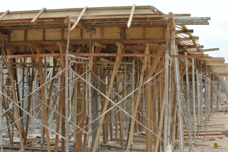 木材支持木材射线模板 免版税库存图片
