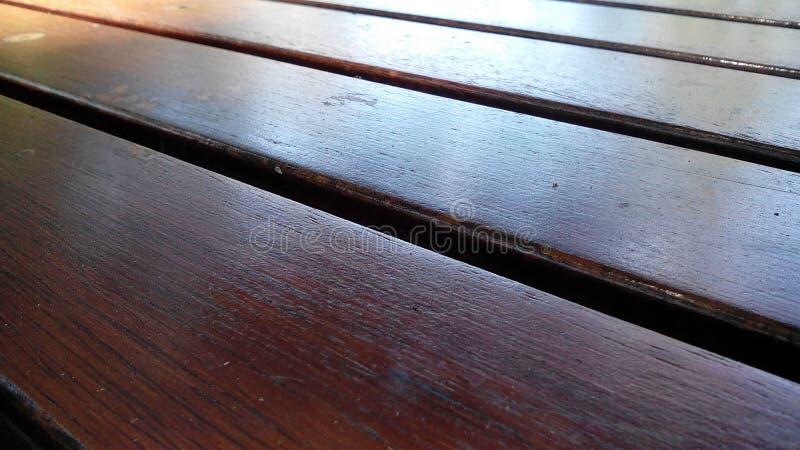 木材桌面 免版税库存照片
