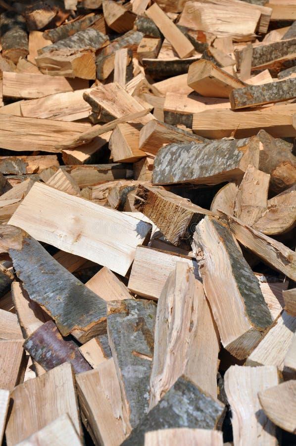 木材许多行  图库摄影