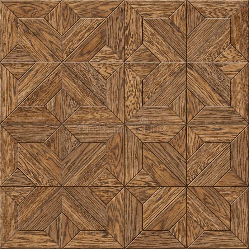 木条地板地板设计无缝的纹理 免版税库存图片