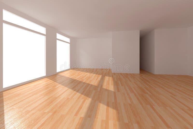 木条地板地板 免版税库存照片