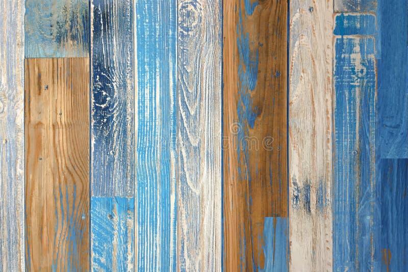 木条地板木纹理,五颜六色的木地板背景 免版税图库摄影