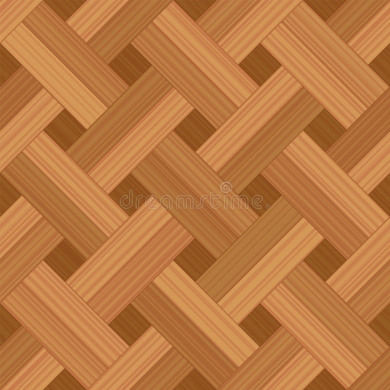 木条地板样式方平组织地板 向量例证