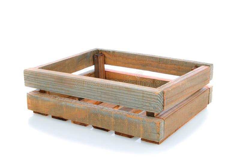 木条板箱老的发运 库存照片