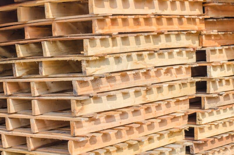木板台交叠 免版税库存图片