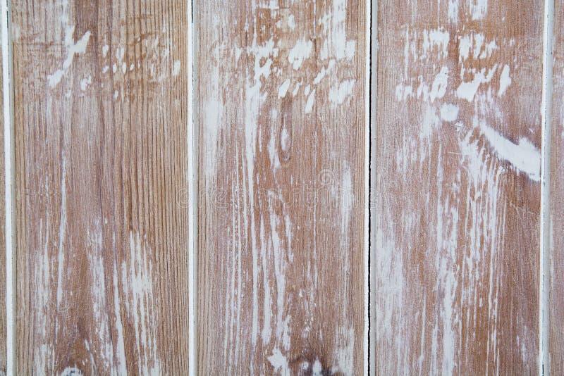 木板木纹理有困厄的油漆纹理的 图库摄影