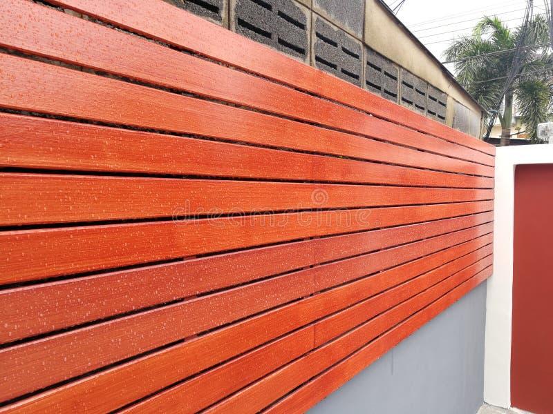 木板条墙壁背景纹理  免版税库存照片