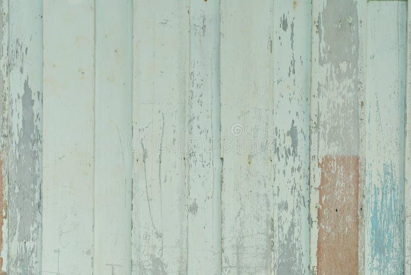 木板条棕色和绿色背景葡萄酒 免版税库存照片