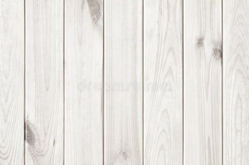 木板条白色纹理背景 库存图片