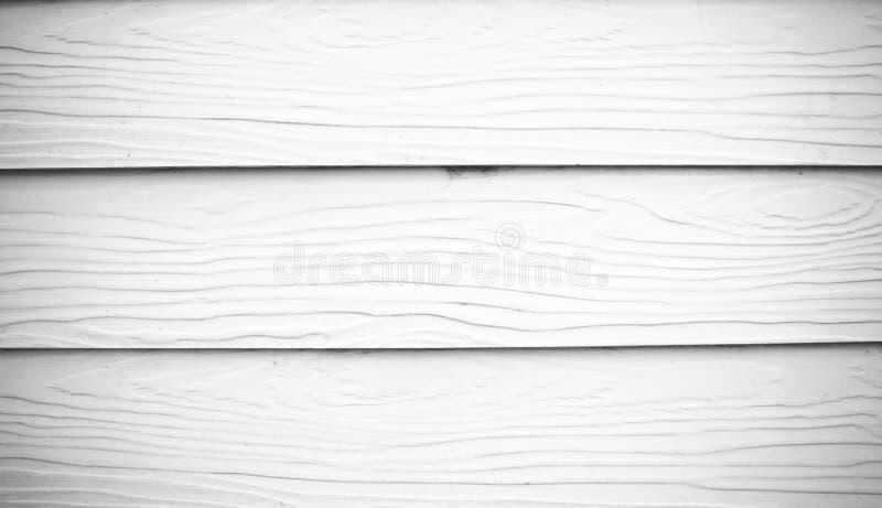木板条白色纹理 免版税库存图片
