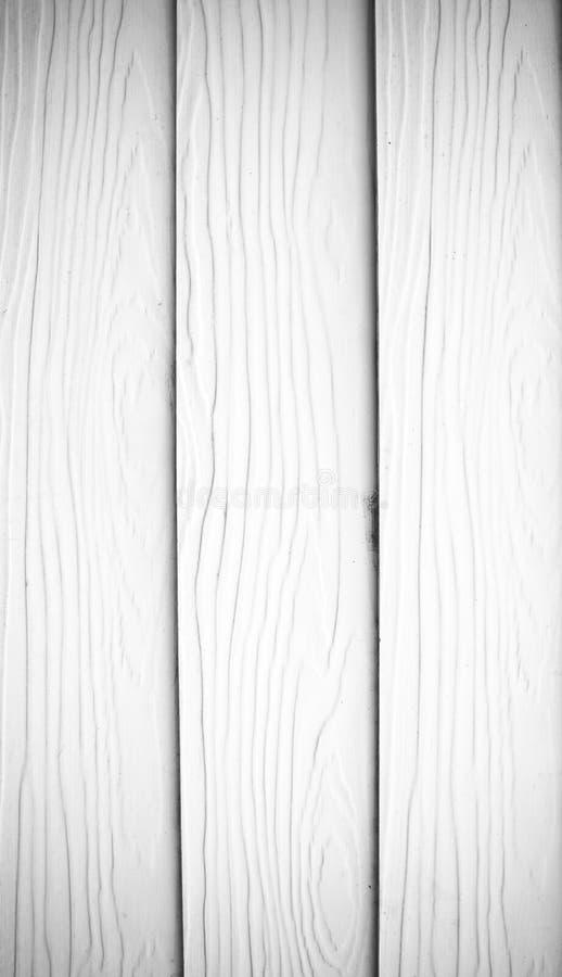 木板条白色纹理 库存照片