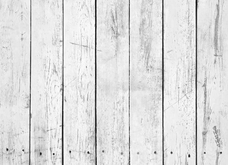 木板条黑白背景  免版税图库摄影