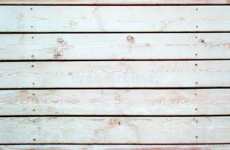 木板条黑白背景  免版税库存照片