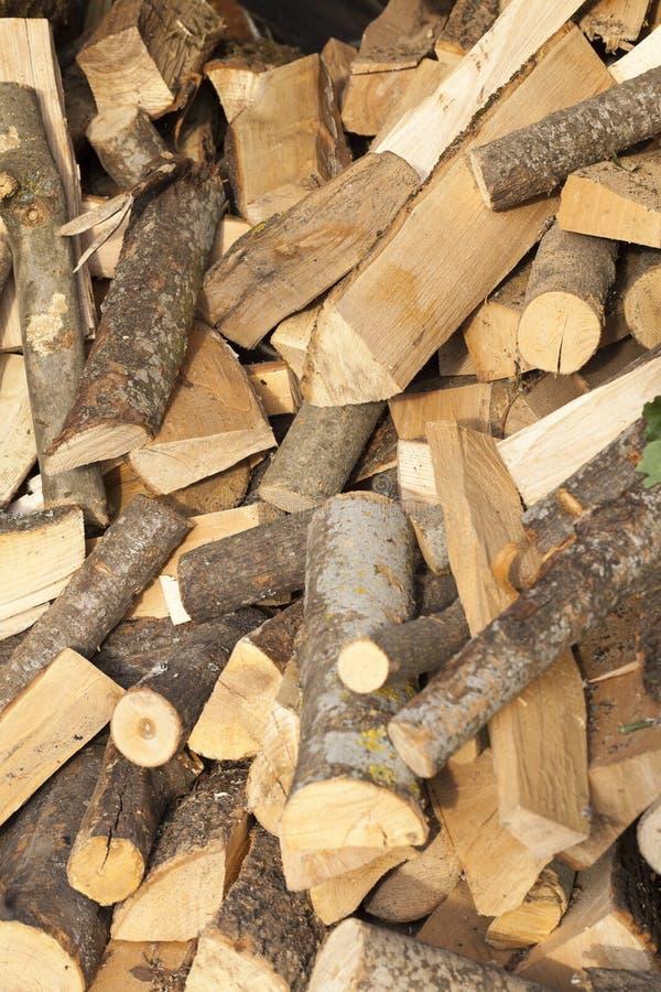 木柴木头 库存照片