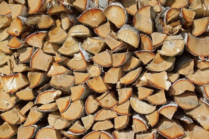 木柴 向量例证