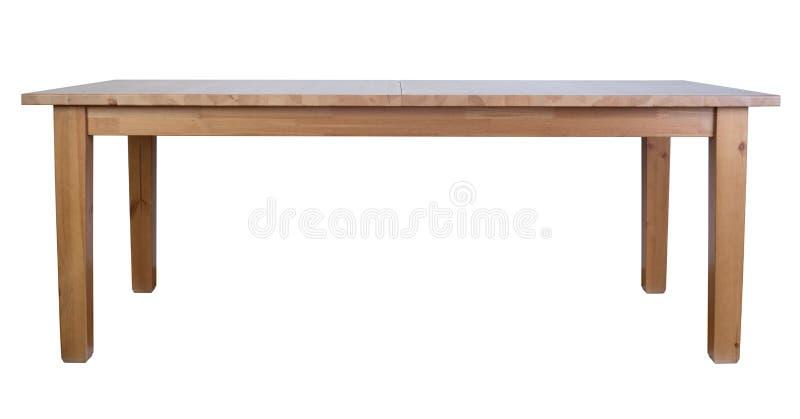 木桌 免版税库存照片
