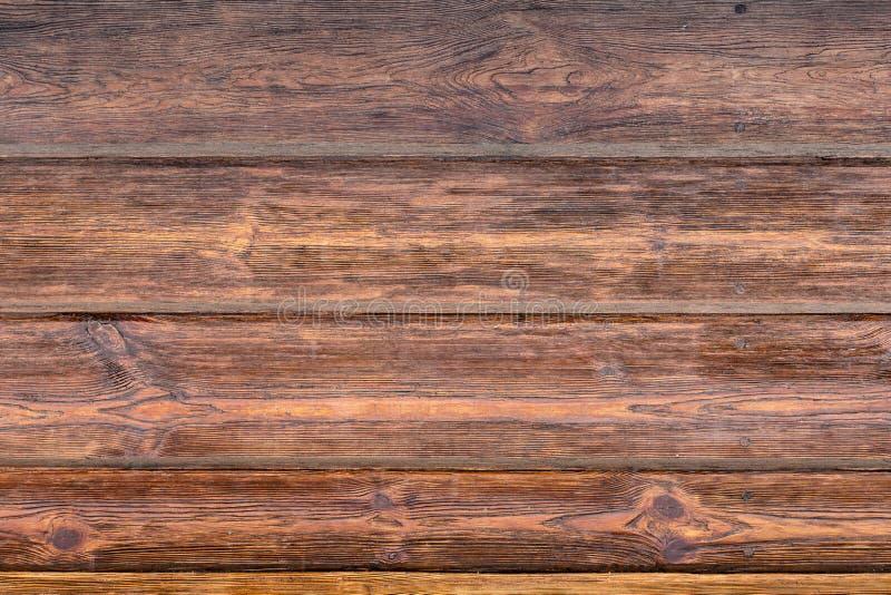 木棕色五谷纹理,木桌木墙壁背景顶视图  库存图片