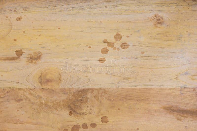 木棕色板条肮脏的纹理 库存照片