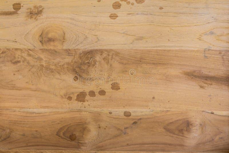 木棕色板条肮脏的纹理 库存图片