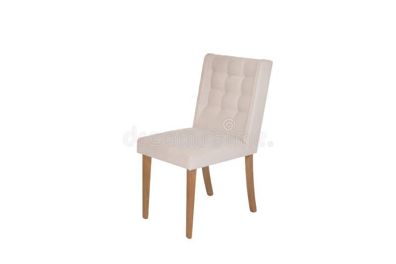 木椅子 对象被隔绝背景 库存照片