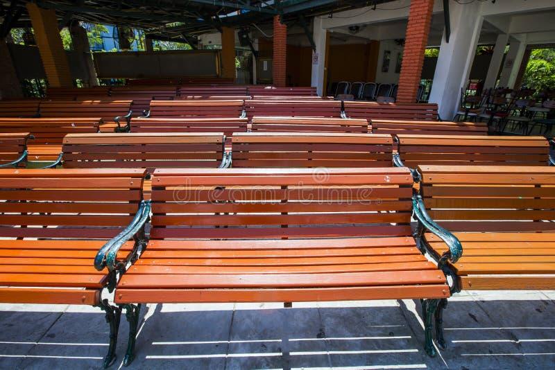 木椅子 免版税库存图片