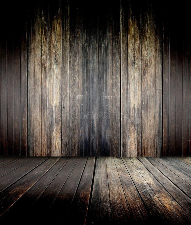 木楼层 库存照片
