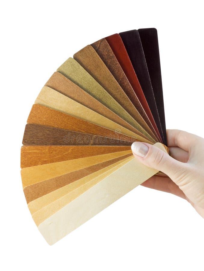 木涂层的范例 免版税库存图片
