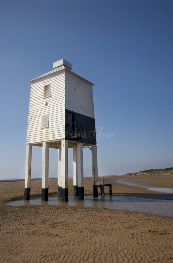 木灯塔在萨默塞特 免版税库存图片