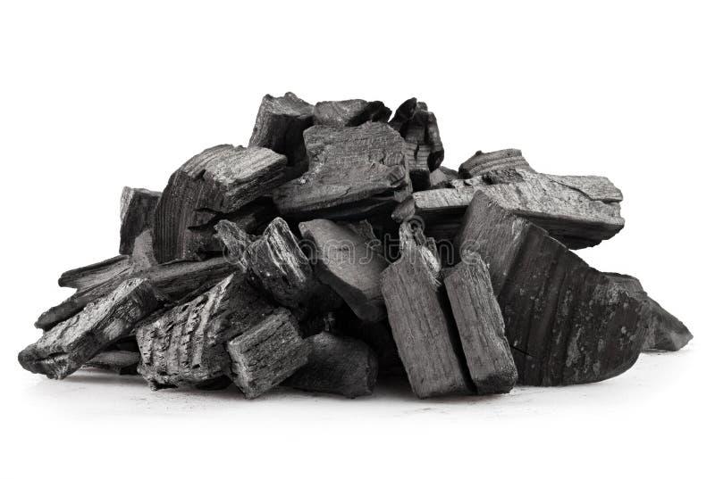 木炭 库存图片
