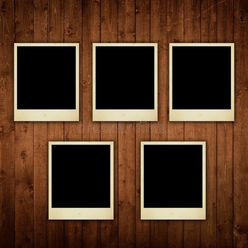 木照片偏正片的纹理 免版税图库摄影