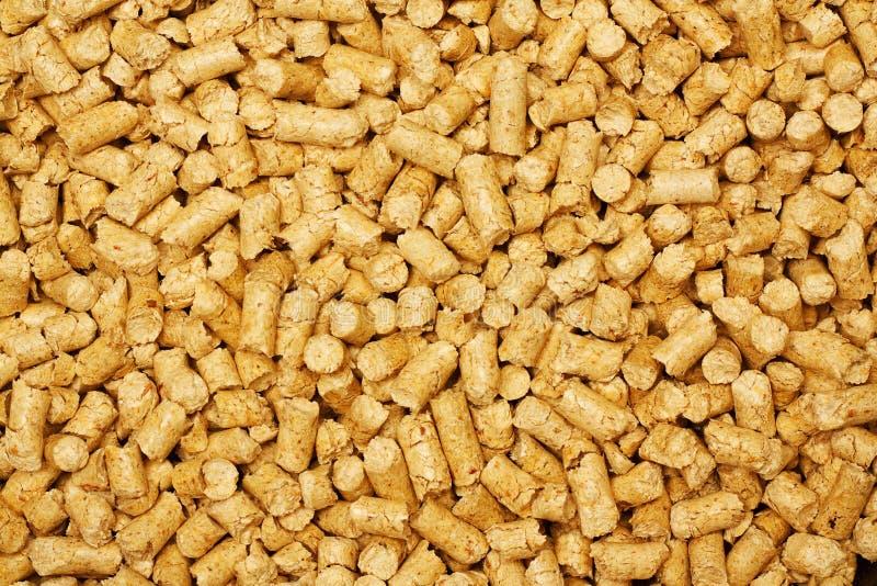 木片生物燃料可延续的替代能源 免版税库存图片