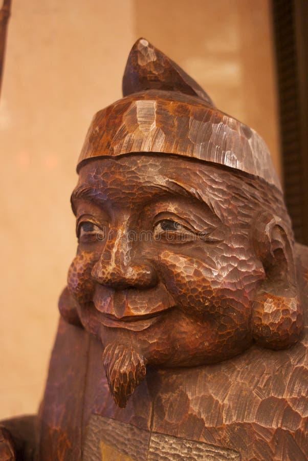 木玩具比喻在东京 免版税库存照片