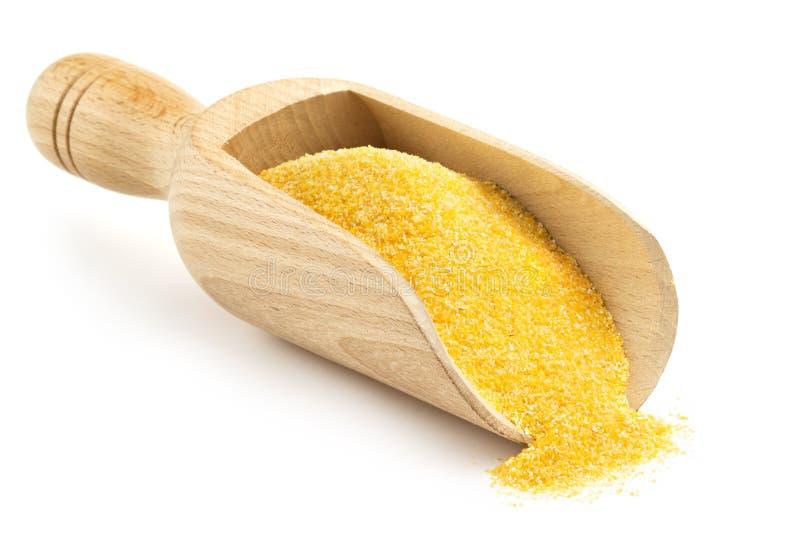 木瓢用玉米粉 库存图片