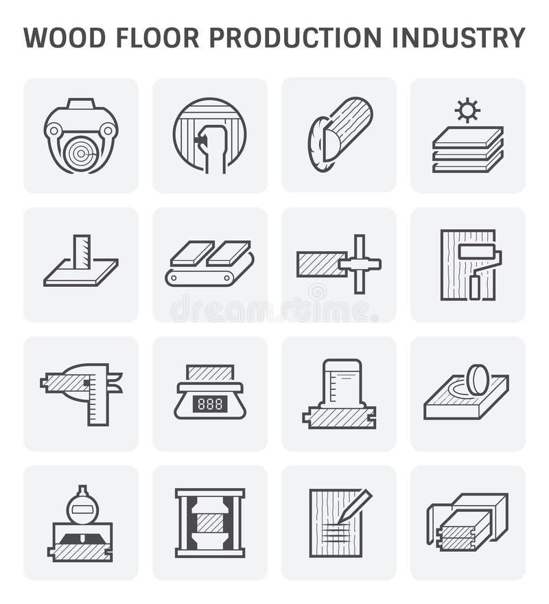 木生产象 向量例证