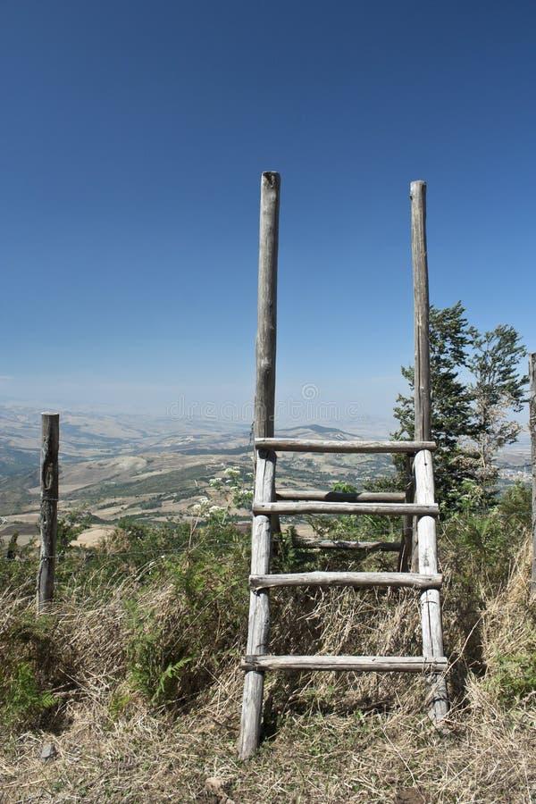 Download 木的台阶 库存图片. 图片 包括有 绿色, 横向, 意大利, 室外, 小山, 没人, 台阶, 复制, 木头 - 15699025