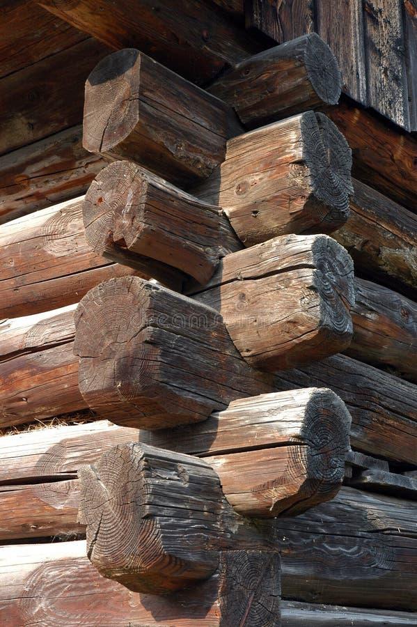 木的客舱 图库摄影