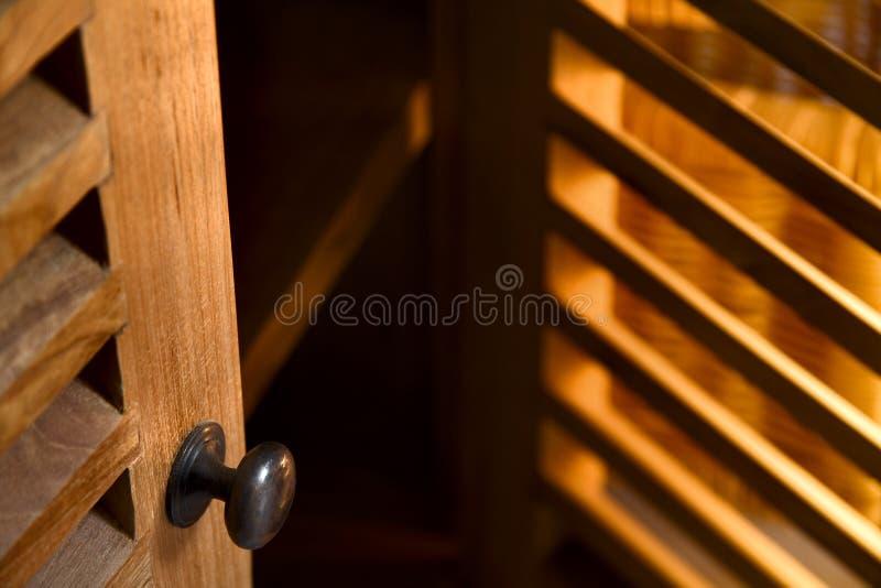木的家具 图库摄影