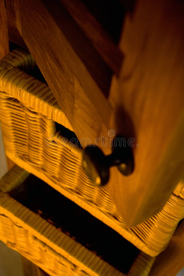 木的家具 库存图片